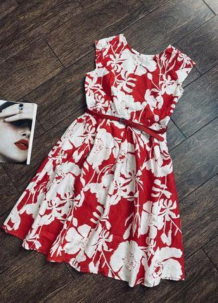 Очень красивое льняное платье большого размера