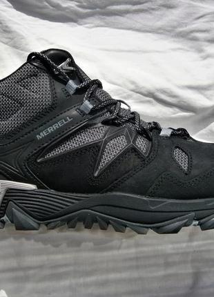 Ботинки merrell all out blaze 2 mid gore-tex® j09387 оригінал натуральна кожа ,мембрана