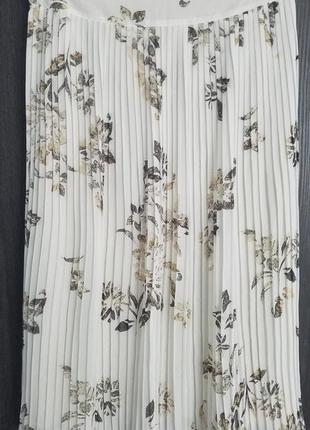 Юбка миди цветочный принт bandorela