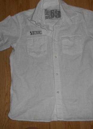 Рубашка на мальчика 10 лет