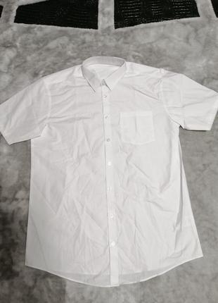 Мужская белая рубашка george р. m