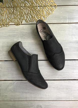 Rieker кожаные закрытые туфли