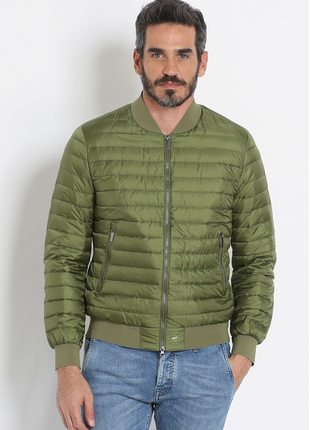 Новый ultralight пуховик add италия бомбер куртка на пуху 100% оригинал адд