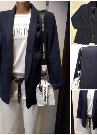 Стильный тонкий лёгкий пиджак жакет кардиган блейзер накидка