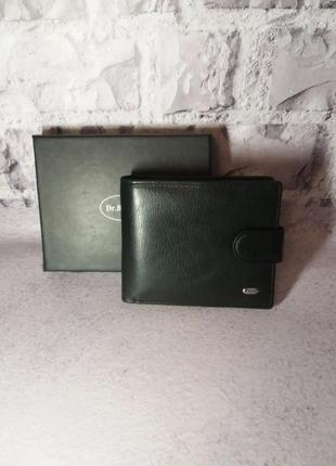 Кожаный мужской кошелек чоловічий шкіряний гаманець портмоне кожаное
