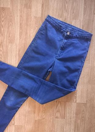 Идеальные скинни джинсы синие топшоп topshop