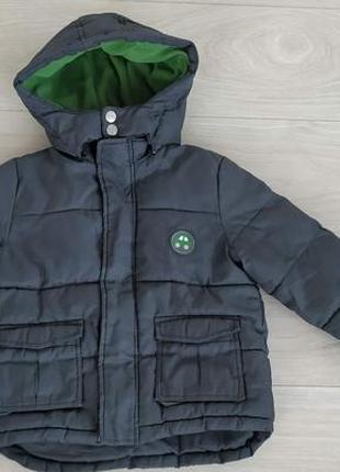 Демисезонная курточка куртка для мальчика еврозима 1.5-2-3 года 86-92-98