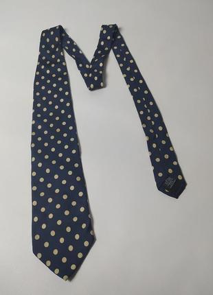 Шелковый галстук hugo boss