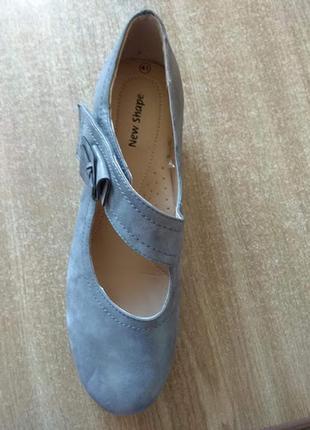 Новые туфли new shape (германия), р. 41
