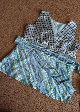 Блузка шелк