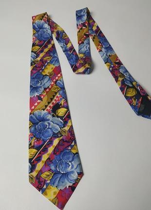 Шелковый галстук kenzo