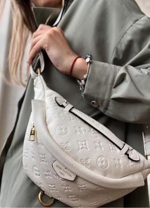 🤍кожаная поясная сумка, банка louis vuitton🤍