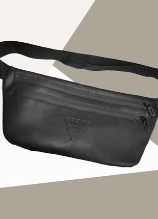 Новая шикарная стильная бананка pu кожа , сумка на пояс/через плечо / клатч рюкзак