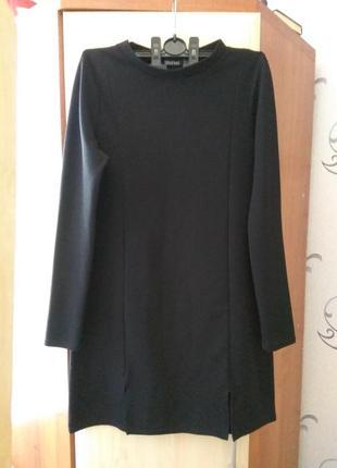 Чёрное платье ровного кроя / жіноча сукня / boohoo