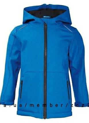 Куртка ветровка трехслойная на флисе  soft shell crivit sports