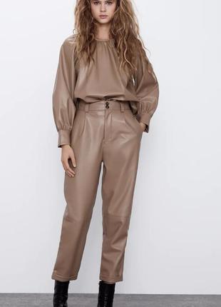 Шикарный костюм от бренда zara, размер l