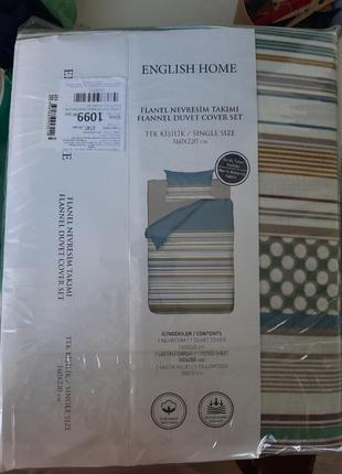 Постельное белье english home, односпальное