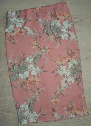 Красивая юбка из фактурной ткани