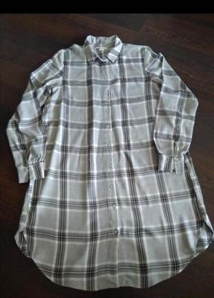 Платье - рубашка h&m