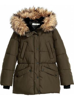 Куртка h&m цвета хаки