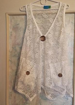 Блуза ,накидка koopo