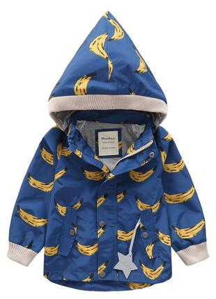 Meanbear куртка детская бананы