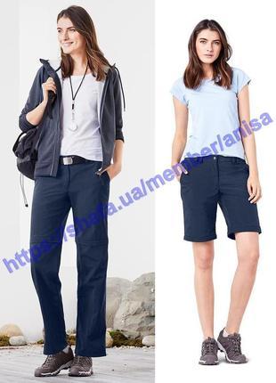2 в 1 брюки-шорты dryactive plus для прогулок и отдыха tcm tchibo