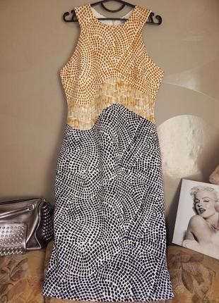 Крутое платье на раннюю осень, плотное
