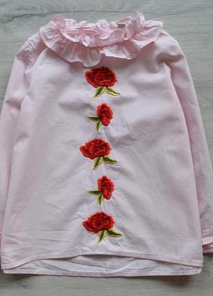 Красивая блуза ривер на 3-4 года.