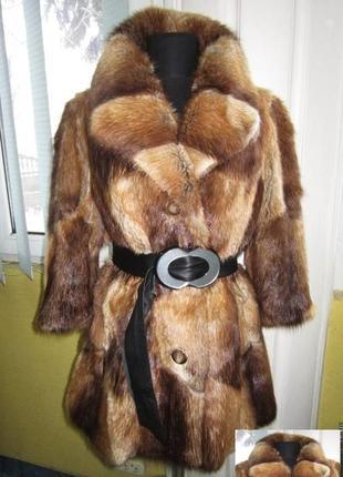 Модная, шикарная женская норковая шуба. германия. рукав ¾. лот 834