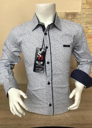 Рубашка для подростка мальчика