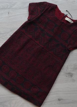 Шикарное платье-туника зара 7 лет, будет на 5-6 лет .