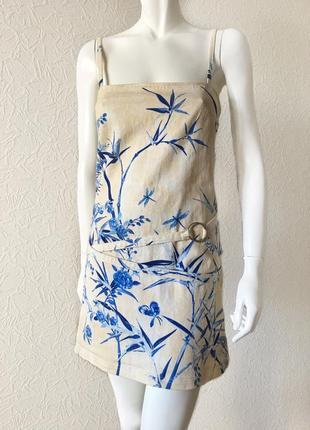 Gianfranco ferre летнее джинсовое платье мини, оригинал