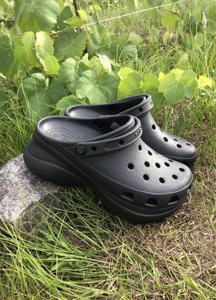 Крокс crocs women's classic bae clog женские кроксы черные сабо