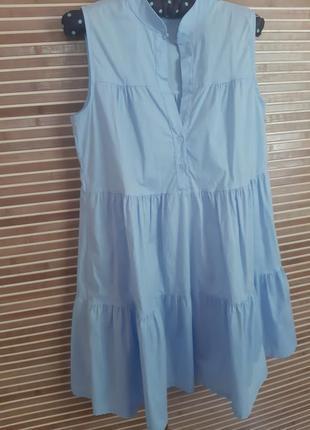 Голубое платье как zara
