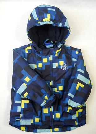 Фирменная термо куртка термокуртка курточка lupilu на мальчика 1,5 2 года