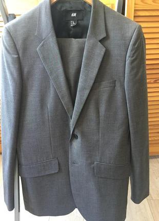 Классический костюм hm