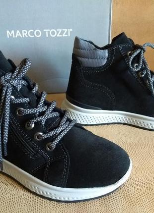 Женские зимние ботинки marco tozzi (германия), размер 37.5-38