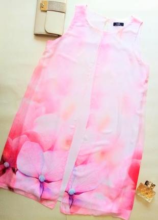 Платье розовое wallis 46 размер