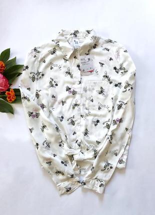 Рубашка для девочек c&a