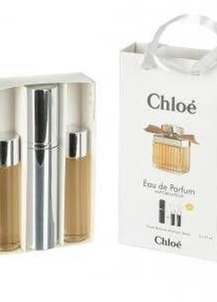 Набор парфюм с феромонами chloe woman 45 мл