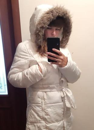 Куртка зимняя парка на зиму пальто пуховик