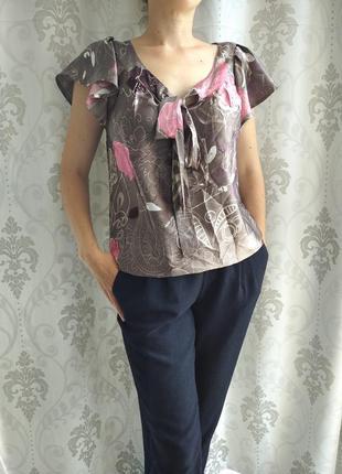 Шикарная аидасная блуза от next
