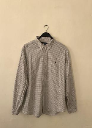 Рубашка ralph lauren оригинал в клетку