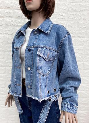 Новая джинсовая курточка джинсовка турция все размеры
