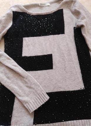 Дуже гарний комбінований светр