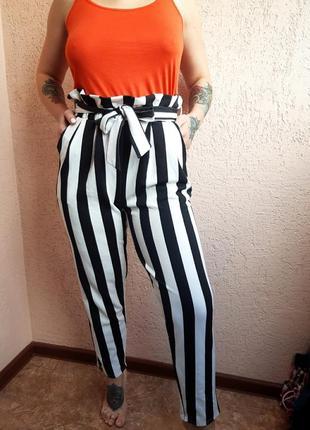 Штаны бананы, брюки бананы, штаны с карманами, стильные штаны