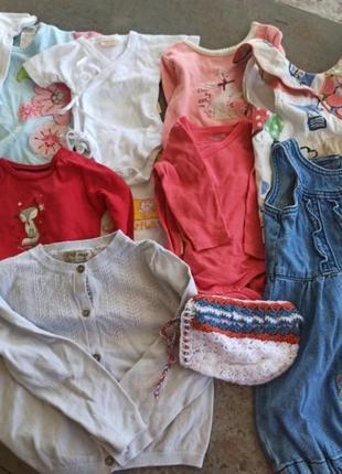 Пакет вещей для девочки до 2-х лет