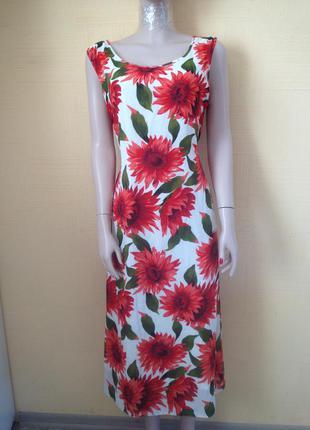 #длинное шифоновое платье#длинное летнее платье#платье в пол#платье в цветы#