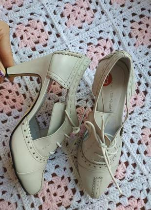 Брендовые женские туфли # кожаные туфли # женские туфли кожа # miss selfridge
